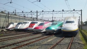 Shinkansen train type
