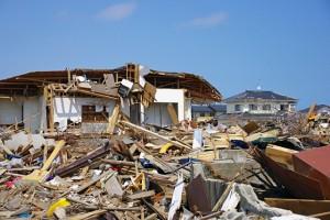 地震の風景