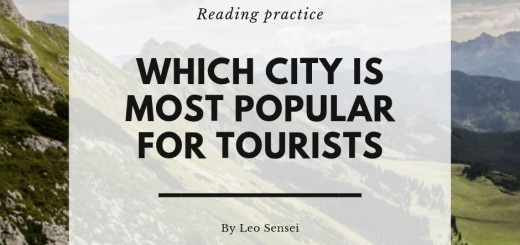 Which city is most popular